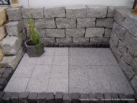 40x40x80 cm / granit mauersteine - granitmauersteine.de, Garten und Bauen
